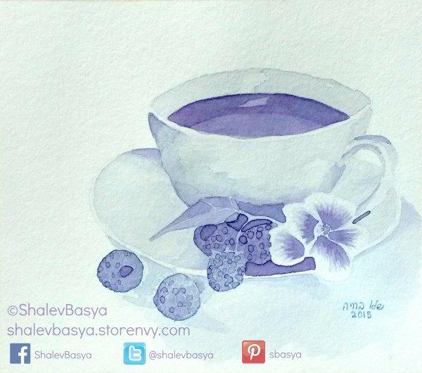 Raspberry Tea (c)