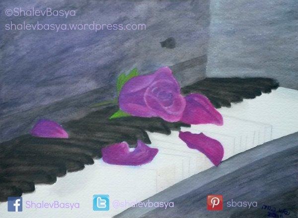 Piano Rose (c)